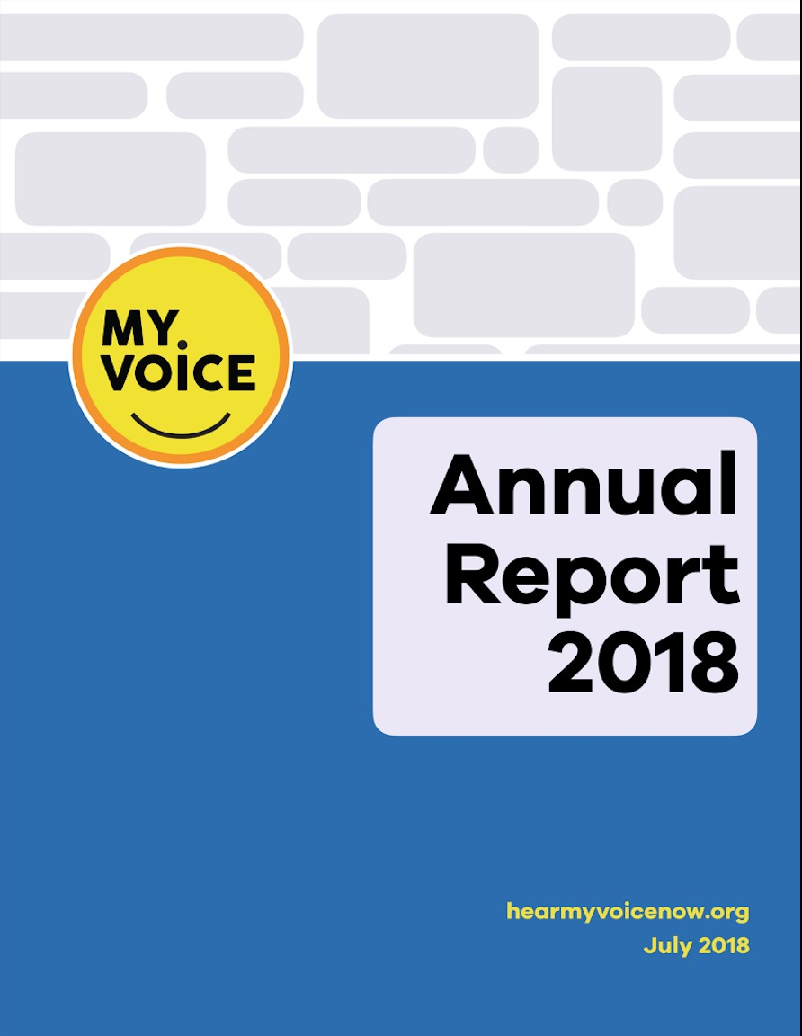 Our first annual report