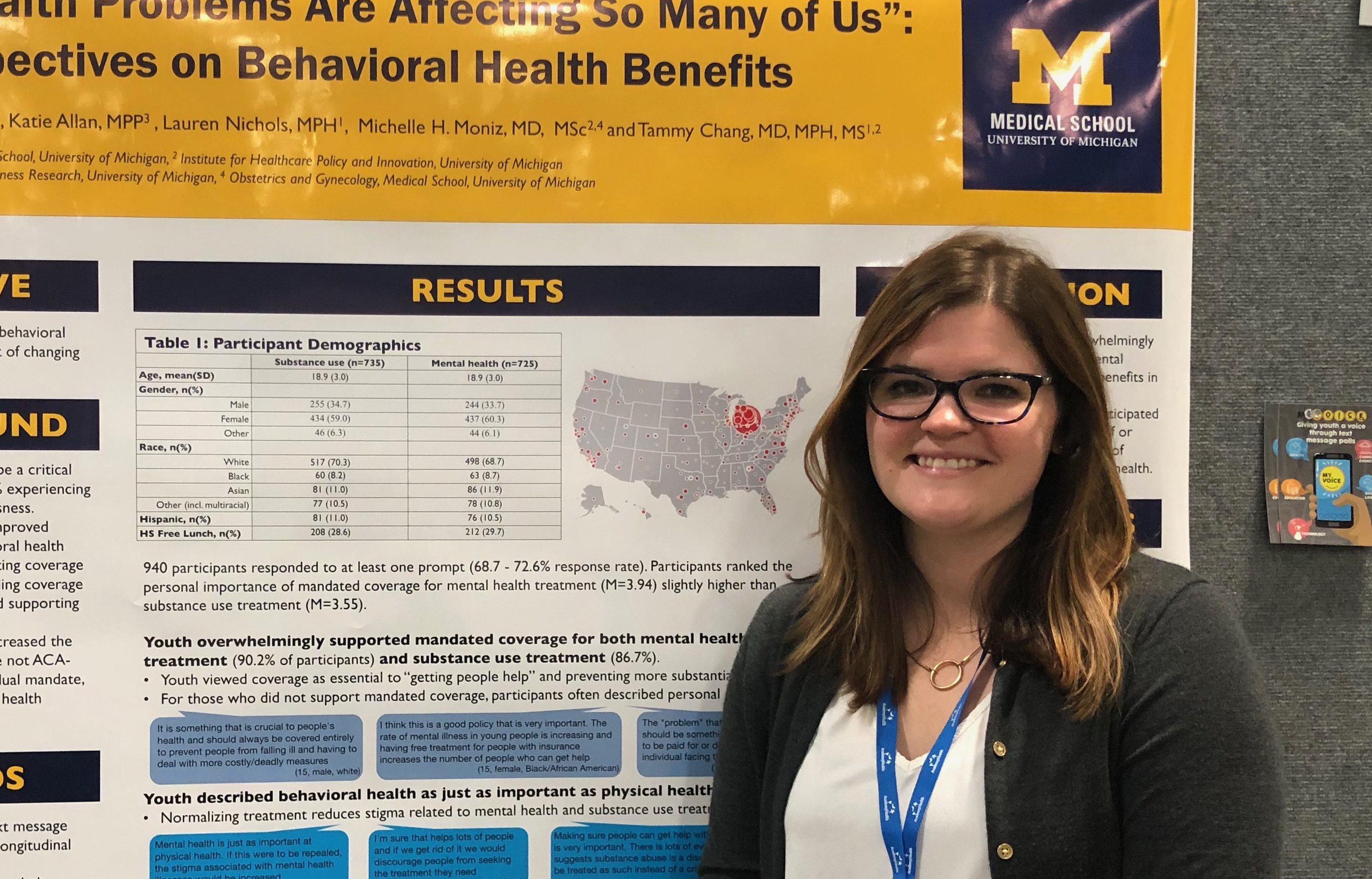 MyVoice presents at Academy Health conference in Washington D.C.