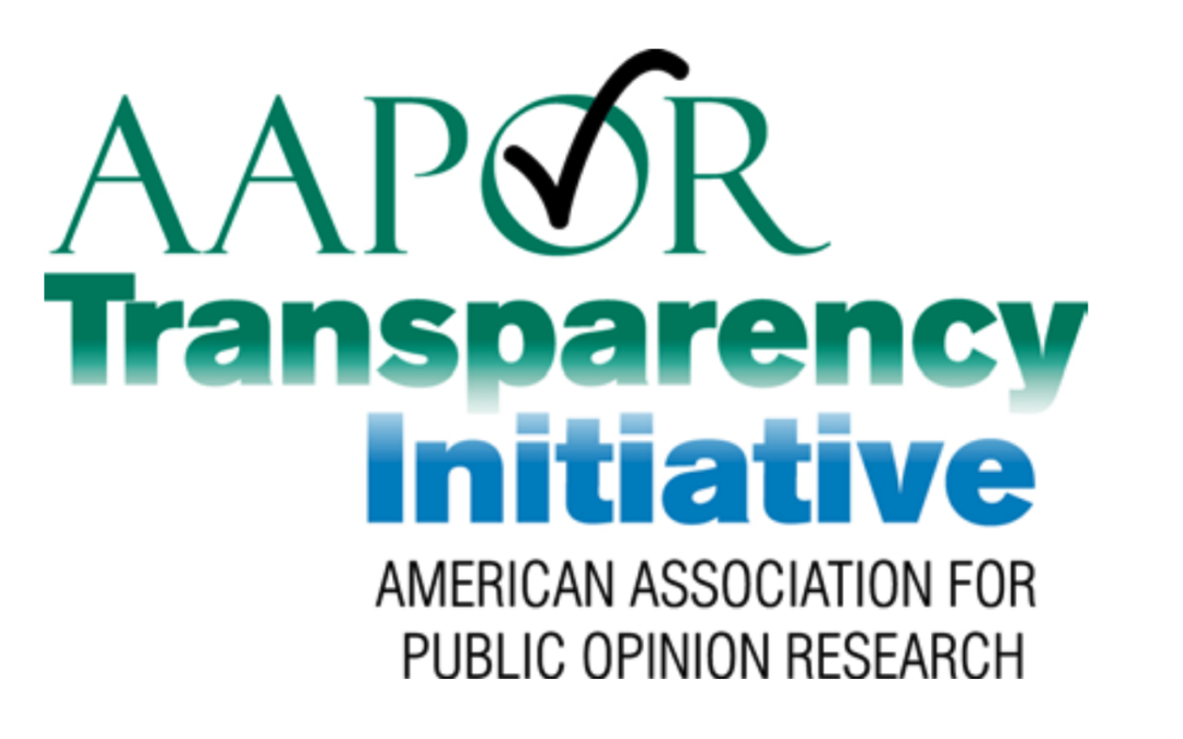 MyVoice Joins the American Association for Public Opinion Research's Transparency Initiative